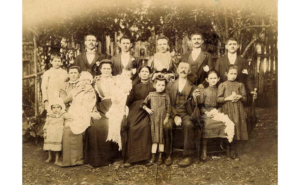 Brasile inizi 1900 - Matrimonio di Sanson Angela e Rosolen Giovanni